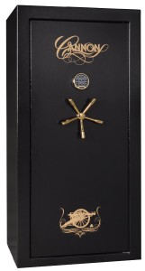 Cannon Safe CA23 Cannon Series Deluxe Fire Safe, Hammer-Tone Black
