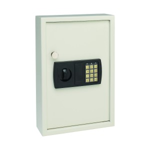 MMF-Industries-Steelmaster-Security-Electronic-Key-Cabinet-11.75-x-17.34-x-4-Inches-Sand-48-Key-Capacity-(20101)